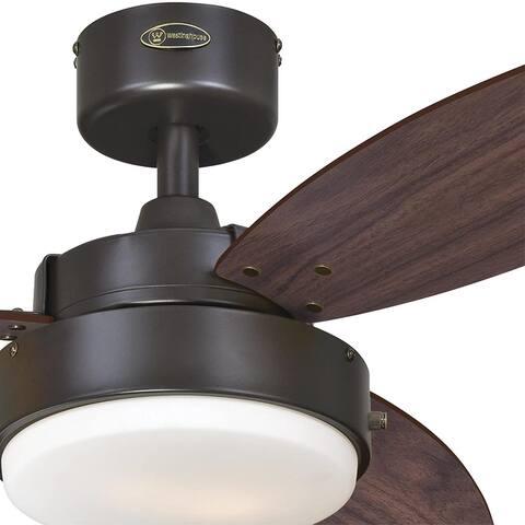 Westinghouse Alloy Ceiling Fan w/Light, 42 Inch, Oil Rubbed Bronze