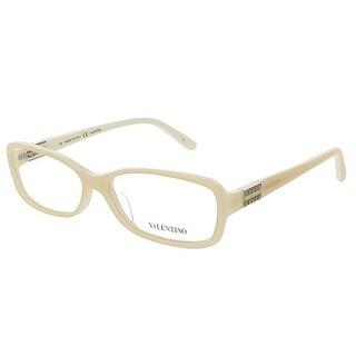 Valentino V2623 103 Ivory Rectangular Valentino Eyewear