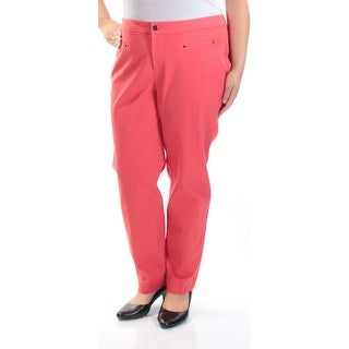 Womens Coral Wear To Work Pants Size 16