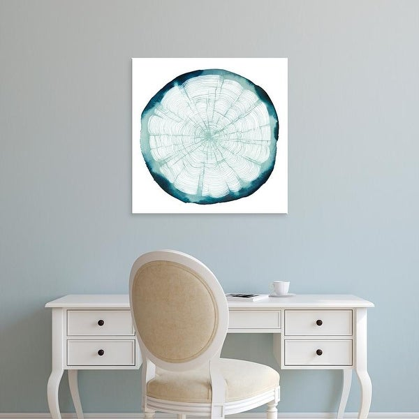 Easy Art Prints Grace Popp's 'Tree Ring Overlay II' Premium Canvas Art