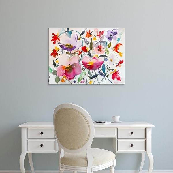 Easy Art Prints Karin Johannesson's 'Bohemian Garden' Premium Canvas Art