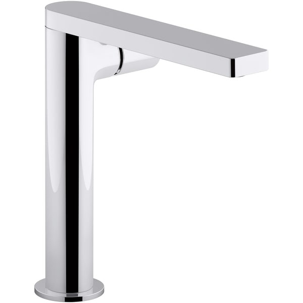 Kohler K-73159-7 Composed Single Hole Bathroom Faucet - Metal Pop-Up Drain Included