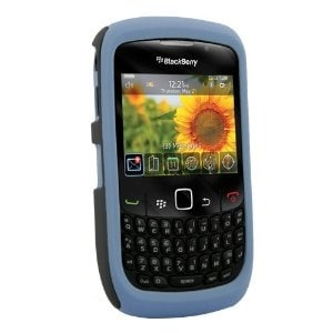 Naztech Vertex Case for Blackberry 8520 (Blue)