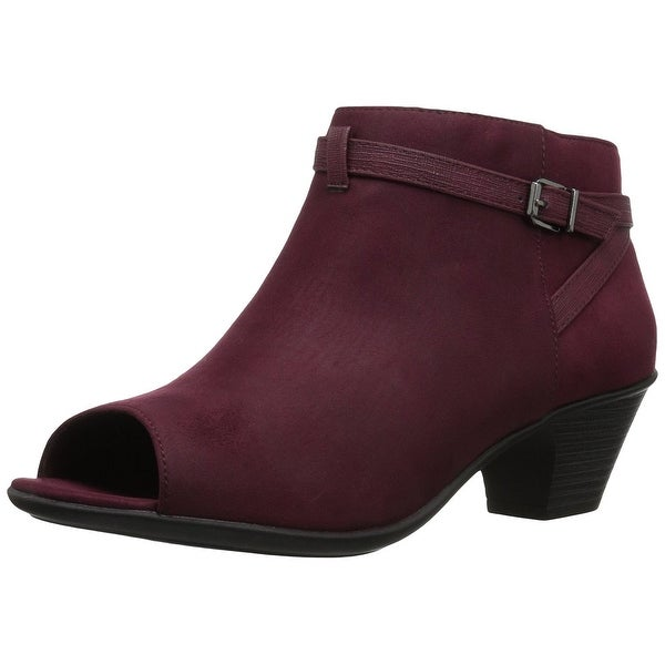 Easy Street Womens Sparrow Ankle Bootie Purple Size 60