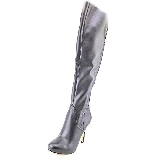 GUESS Womens Enesta Almond Toe Over Knee Fashion Boots