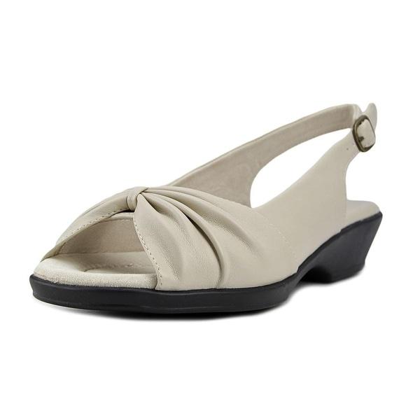 Easy Street Fantasia Women Bone Sandals