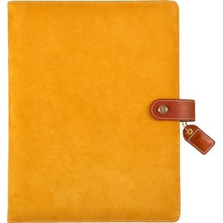 "Mustard Suede - Color Crush A5 Faux Leather Composition Planner 7.5""X10"""