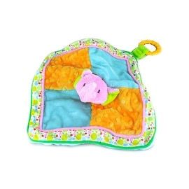 Russ Baby Babies Love to Learn Elephant Activity Blanket