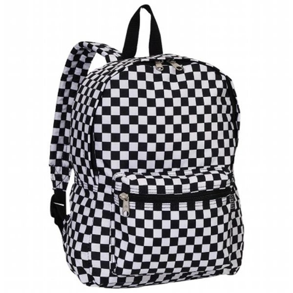 718185434a00 Everest 1045KP-CK 15 in. Basic Pattern Backpack