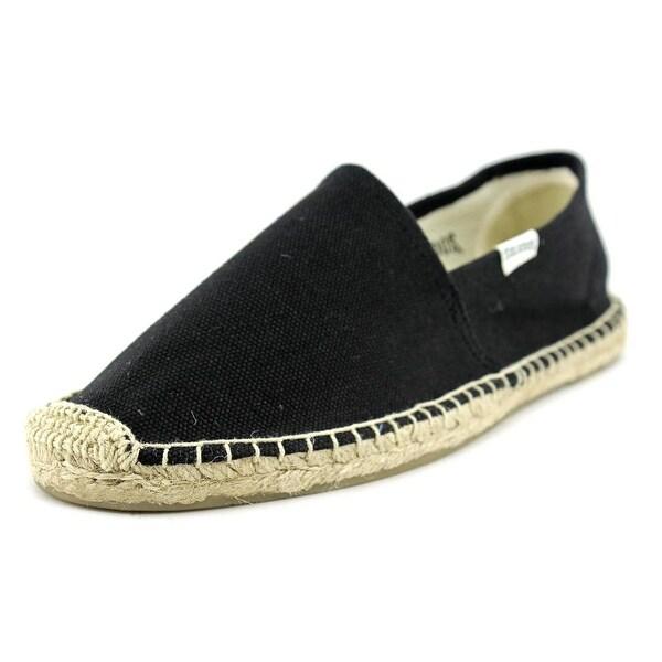 b75c9a13476 Shop Soludos Original Dali Women Moc Toe Canvas Black Espadrille ...