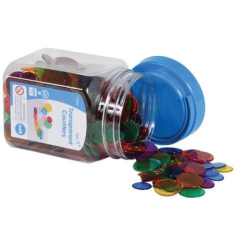 Transparent Counters Mini Jar