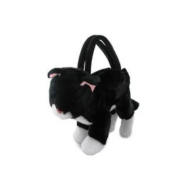 Plush Black Kitty Purse