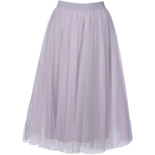 Bailey 44 Womens Tulle Pull On A-Line Skirt - M