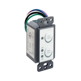 Air King AKEDT2 Exhaust Fan Control Switch with Electronic Delay Timer