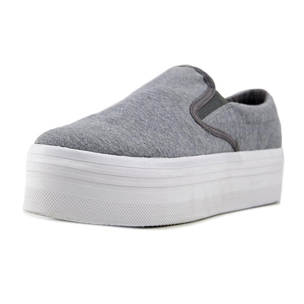 JC Play WTF Women Round Toe Synthetic Gray Loafer