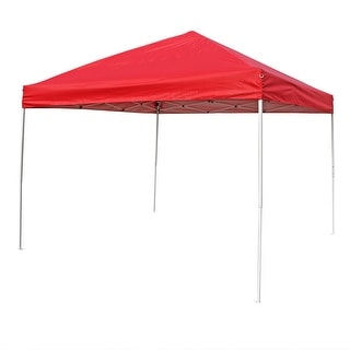 Sunnydaze Quick-Up Instant Canopy Event Tent Shelter with Carrying Bag, Straight Leg, Multiple Options