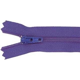 "Purple - Ziplon Coil Zipper 9"""