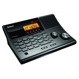 Uniden BC365CRS Clock/Radio Scanner w/ Weather Alert