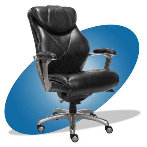 La-Z-Boy Cantania Executive Office Chair with AIR Technology