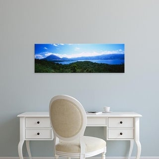 Easy Art Prints Panoramic Images's 'Clouds over a volcano, Arenal Volcano, Costa Rica' Premium Canvas Art