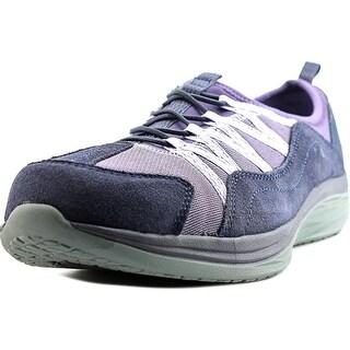 Easy Spirit e360 Halsten Women Round Toe Canvas Purple Walking Shoe