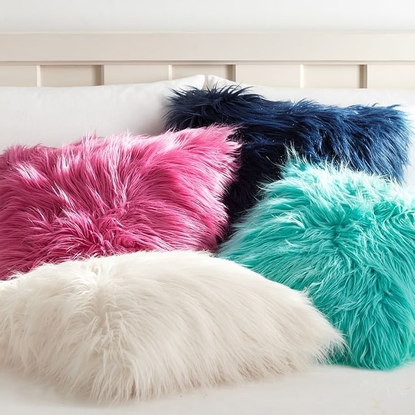 Luxury Series Faux Fur Pillow Cover. Opens flyout.