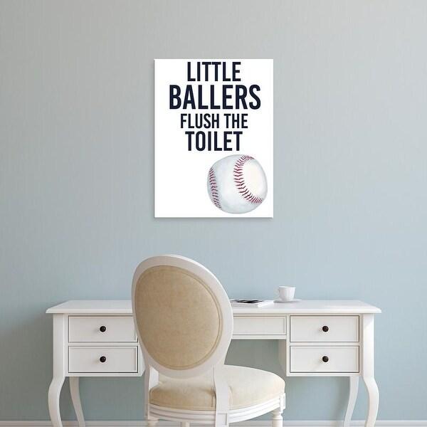 Easy Art Prints Studio W's 'Little Ballers IV' Premium Canvas Art