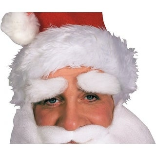 Mohair Santa Claus Eyebrows Adult Costume Accessory