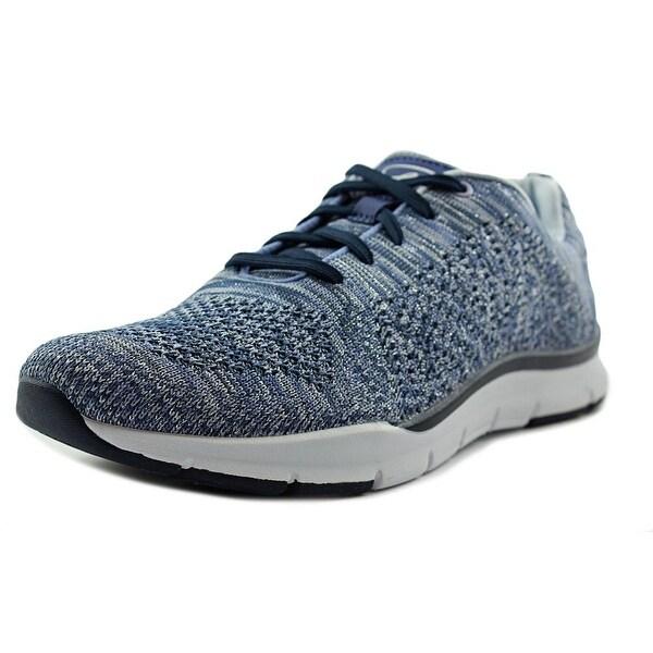 Easy Spirit Ferran Women Round Toe Canvas Blue Walking Shoe