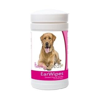 Healthy Breeds Labrador Retriever Ear Wipes 70 Count