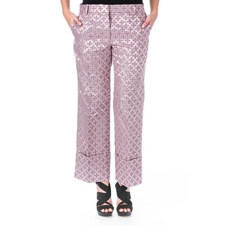 Elizabeth and James Womens Carson Tile Jacquard Casual Pants