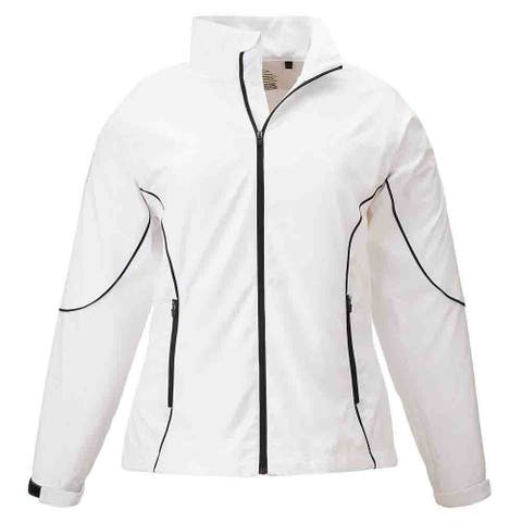 Page & Tuttle Free Swing Peached Windbreaker Womens Athletic Jacket