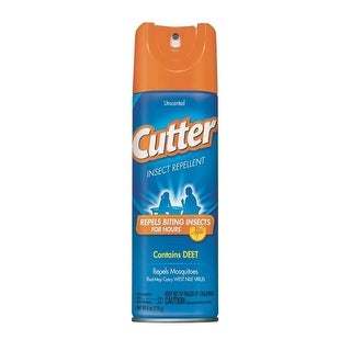 Cutter 51020-6 Unscented Insect Repellent, 6 Oz