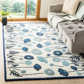 Martha Stewart by Safavieh Poppy Glossary Wool/ Viscose Rug