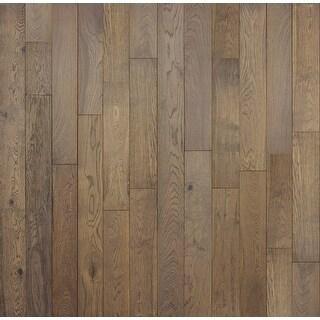 "Miseno MFLR-MOUNTAINRIDGE  Mountain Range - 5-7/8"" Engineered Hardwood Flooring - Handscraped White Oak Wood - Sold by Carton"