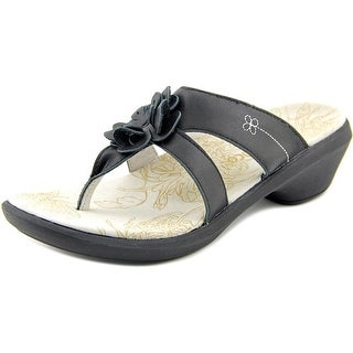 Spenco rose Open Toe Leather Thong Sandal