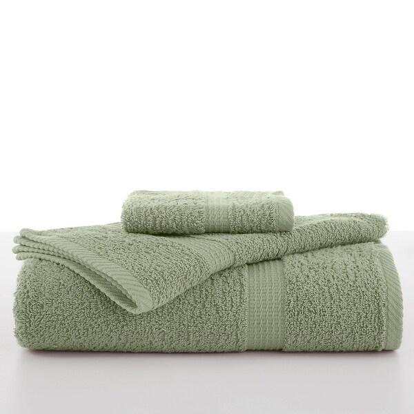 Utica Essentials Bath Towel Collection. Opens flyout.