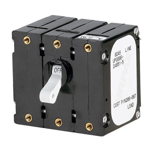 Paneltronics breaker 30 amps w/ reverse polarity trip coil