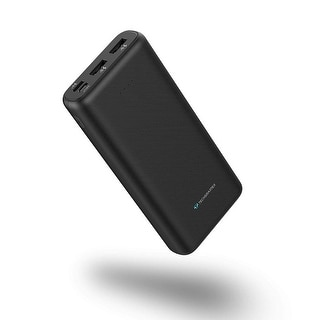Techsmarter 20000mAh Fast Charging Portable Charger 18W USB C Power Delivery Port for iPhone, Samsung Galaxy, and Androids