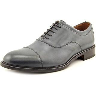 Mercanti Fiorentini Golf Men Cap Toe Leather Oxford