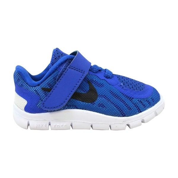 f2b794bc13 Nike Free 5 Game Royal/Black-Turquoise Toddler 725107-400 Size 4 Medium