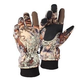 King's Camo Insulated Waterproof Hunting Gloves Desert Shadow