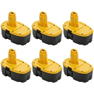 Dewalt 1500mAh Dc9096 18V Battery - Replacement  (6 Pack)