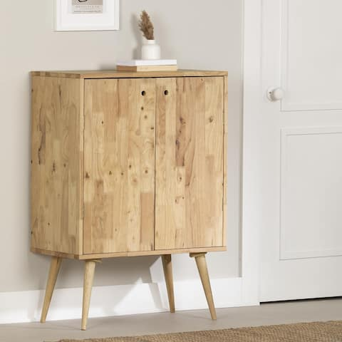 South Shore Kodali Solid Wood Buffet with Wine Storage