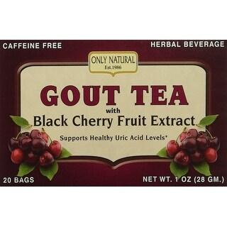 Only Natural Gout Tea Blk Chry Frt Ext 20 Bag