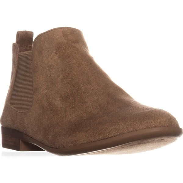 AR35 Stansie Pull-On Ankle Boots, Sand