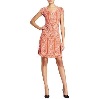 Karen Kane Womens Casual Dress A-Line Pullover