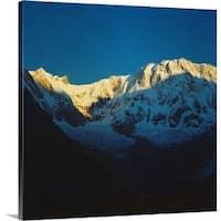 Premium Thick-Wrap Canvas entitled Annapurna - Multi-color