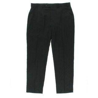 Calvin Klein Mens Plaid Slim Fit Dress Pants - 32/32