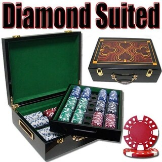 PSC-1803G 500 Ct - Pre-Packaged - Diamond Suited 12.5g - Hi Gloss